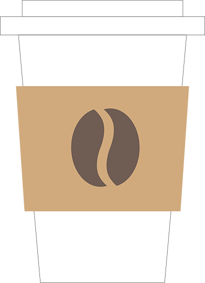 coffee in plastic cup
