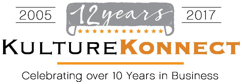 Kulture Konnect Logo 10 Years Anniversary