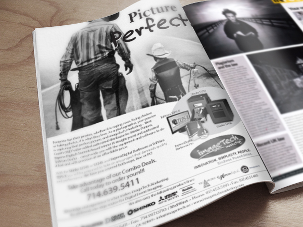 Print ad Image Tech design