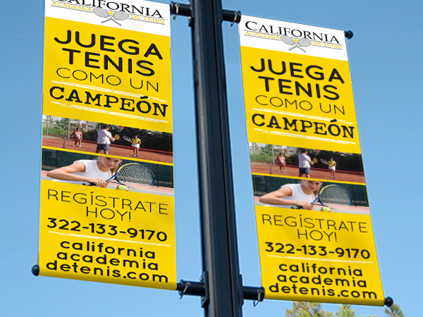 Billboards california tennis academy