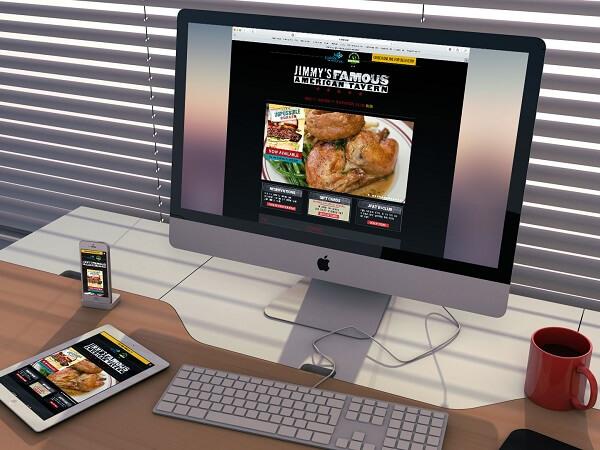 JImmy Famous site design