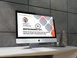 Social Media Metric Webinar for Restaurants