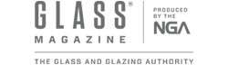 Glass Magazine logo.