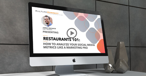 Social media metric for restaurants